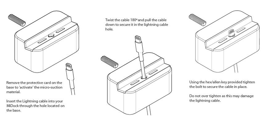 MiDock Instructions